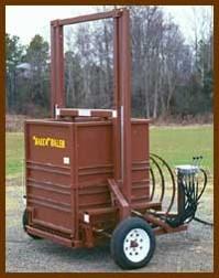 burley tobacco big baler machine